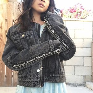 *NWOT*JUICY COUTURE OVERSIZE DENIM JACKET